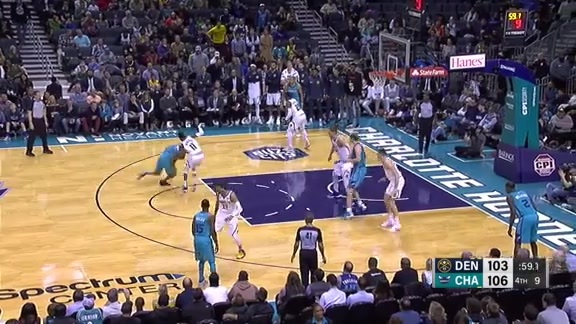 Toyota Game Recap: Nuggets at Hornets
