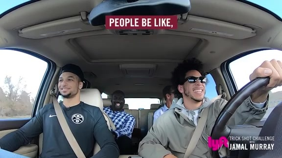 Jamal Murray Takes a Lyft with Fans