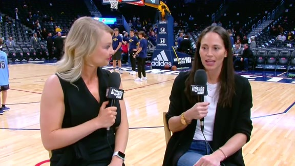Katy Winge Sits Down with Sue Bird