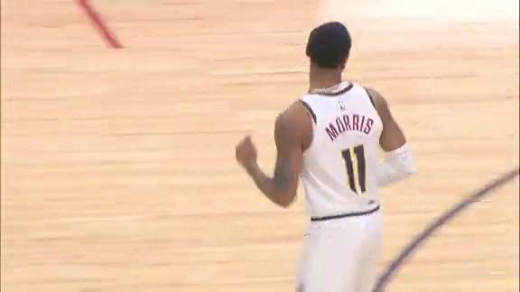 Monte Morris Against the Raptors