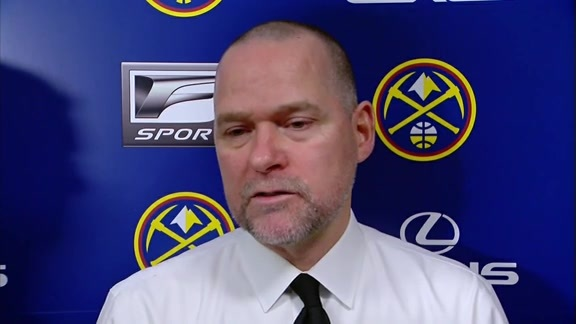 Coach Malone on the Nuggets' Win Against the Mavericks
