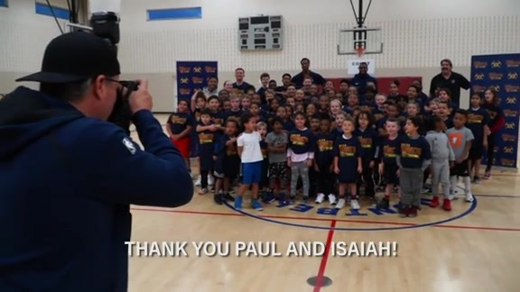 Western Union Jr. Nuggets Clinic with Paul Millsap and Isaiah Thomas