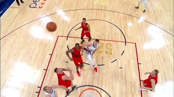 Mason Plumlee's Alley Oop on the Blazers