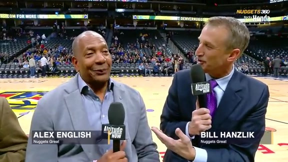 Nuggets 360 | Alex English