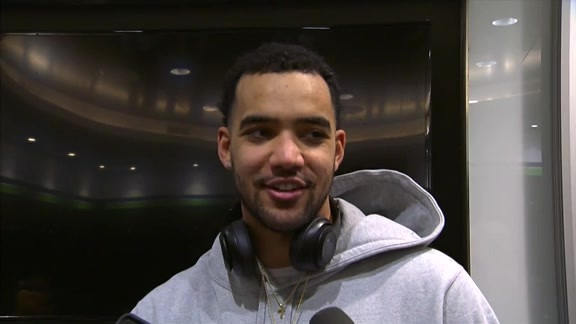 Lyles on Tonight's Win Against the Timberwolves