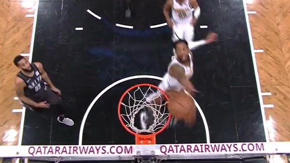 Barton's Block Against the Nets