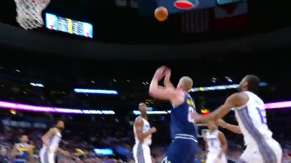 Midgame Highlights of the Kings vs. Nuggets