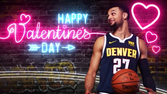 Happy Valentines Day from the Nuggets