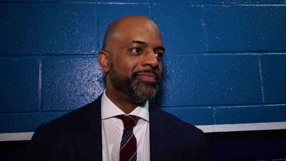 Interview with Wes Unseld After the Rising Stars Challenge