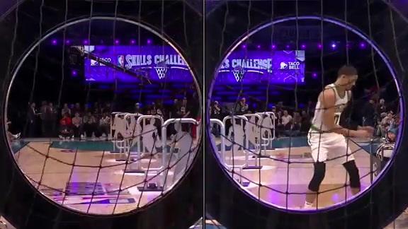 Jokić in Semifinals of the Skills Challenge