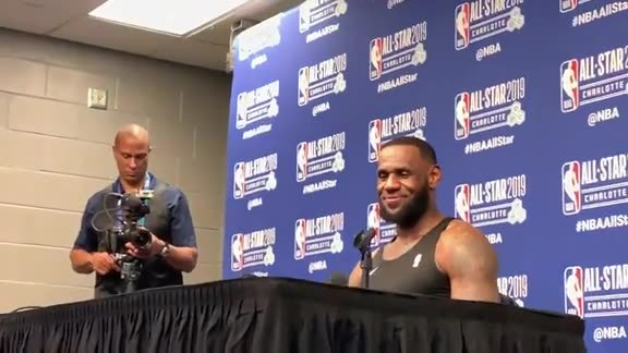 LeBron James on Coach Malone After 2019 All-Star Game