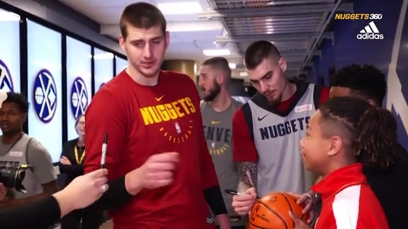 Nuggets 360 | Nugget for a Day Keshaun Taylor
