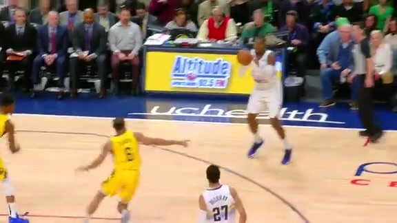 Midgame Highlights: Pacers vs. Nuggets