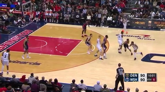 Craig with 15 Points Against the Wizards