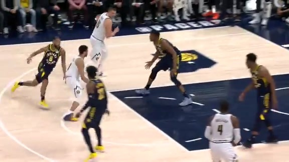 Midgame Highlights Against the Pacers