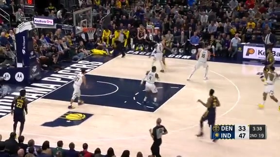 Toyota Game Recap: Nuggets at Pacers