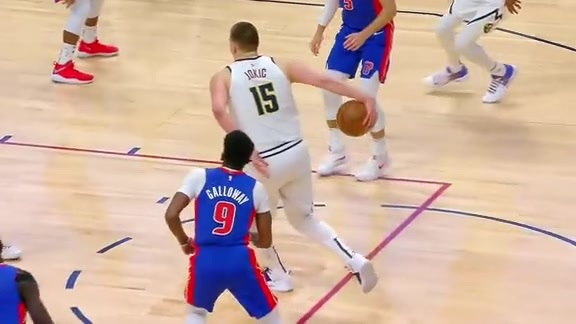 Midgame Highlights vs. Pistons