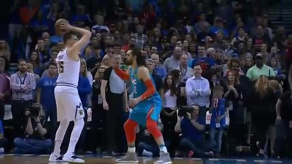 Midgame Highlights: Nuggets at Thunder