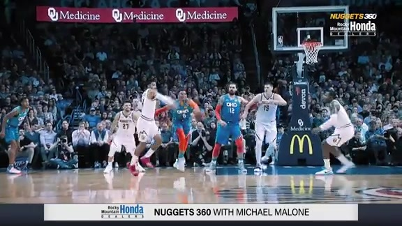 Nuggets 360 | Jamal Murray vs. OKC