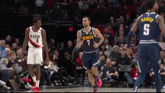 Lyles Highlights Against the Blazers