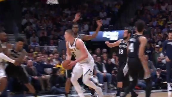 Jokić Highlights vs. Spurs: 2019 Playoff Game Two