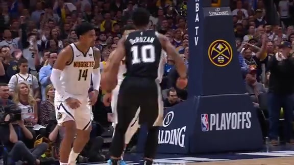 Harris Highlights vs. Spurs: 2019 Playoff Game Two