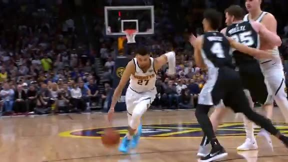 Murray Highlights vs. Spurs: 2019 Playoff Game Two