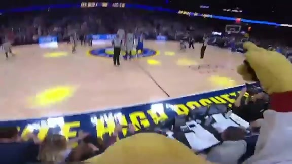 SuperMascot Rocky's Perspective of Nuggets Playoff Game 1