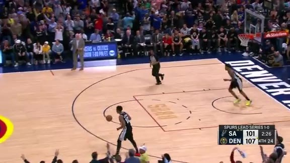 Murray 3-pointer vs. Spurs Game 2