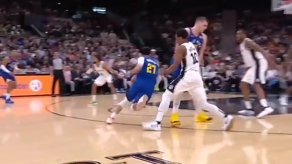 Halftime Highlights: Nuggets at Spurs Playoff Game Six