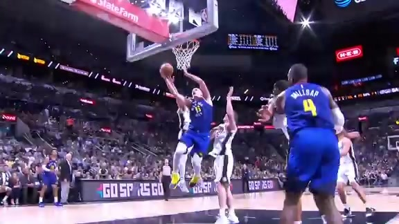 Jokić Highlights Against the Spurs: 2019 Playoff Game Six