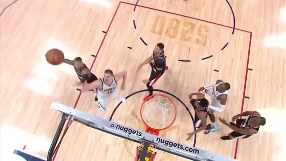 Xfinity High Speed Highlights: Trail Blazers vs. Nuggets Game 1