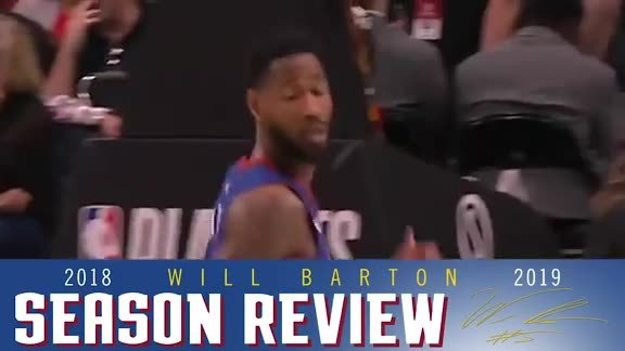 2018-19 Season Recap: Will Barton