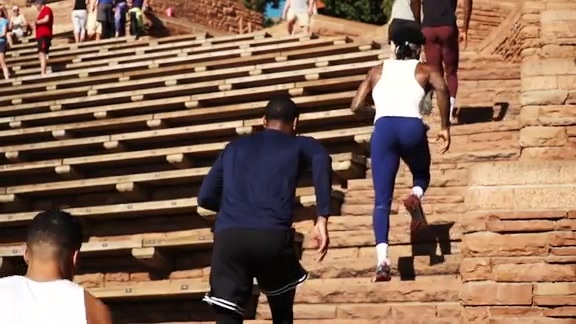 Nuggets Summer Workouts at Red Rocks