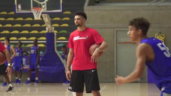 Basketball Without Borders: Jamal Murray Visits Comuna 13