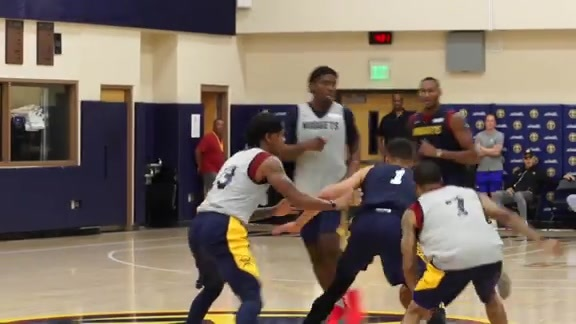 Michael Porter Jr. Plays in a Nuggets Summer League Scrimmage