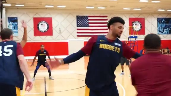 Highlights from Nuggets Training Camp Day 4