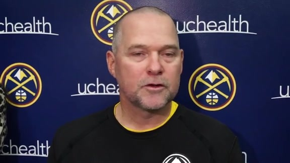 Nuggets practice: Michael Malone interview (10/7/19)