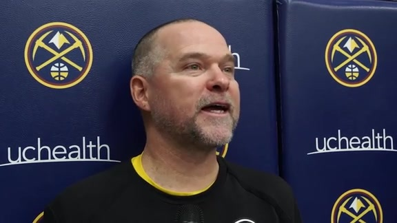 Nuggets practice: Michael Malone interview (10/12/19)