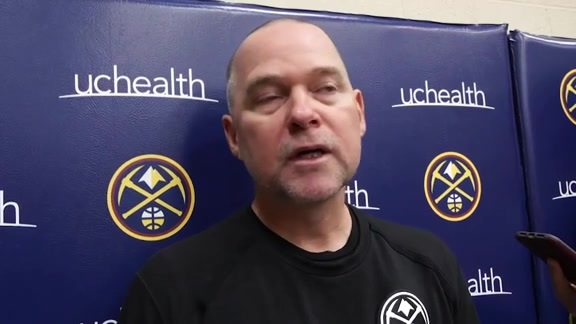 Nuggets practice: Michael Malone interview (10/13/19)
