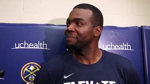 Nuggets practice: Paul Millsap interview (10/16/19)
