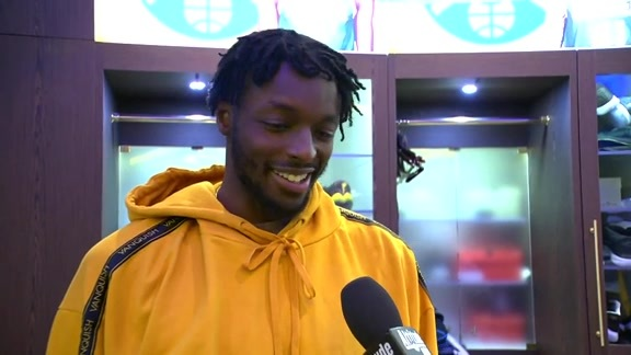 Nuggets vs. Trail Blazers: Jerami Grant interview (10/17/19)