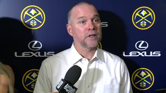 Denver Nuggets' Michael Malone: Ability to share the ball was a bright spot