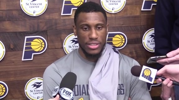 Pacers on Successful January, Burke Filling In