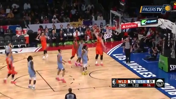 Highlights: Sabonis Records Double-Double in Rising Stars Win