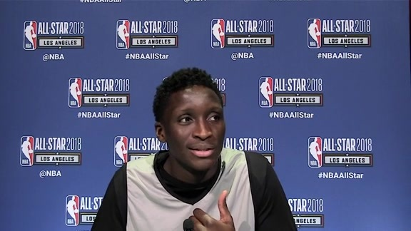 Oladipo on Athletes' Role in Society