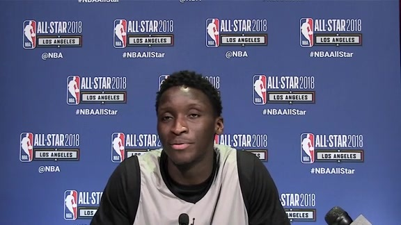 Random Media Questions For Victor Oladipo