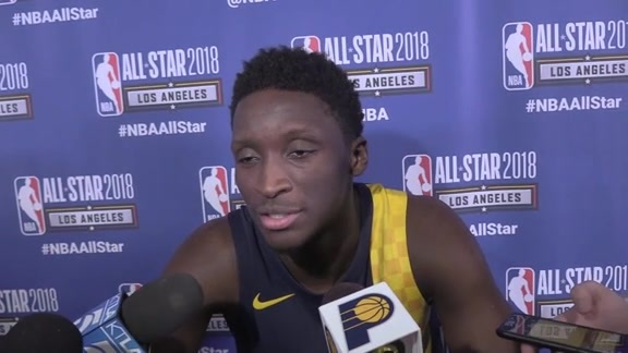 Oladipo Breaks Down Dunk Contest Performance