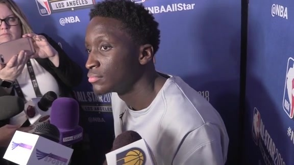 Postgame: Oladipo Reacts to First All-Star Game