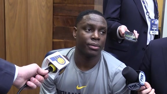 Postgame: Pacers Locker Room - March 15, 2018